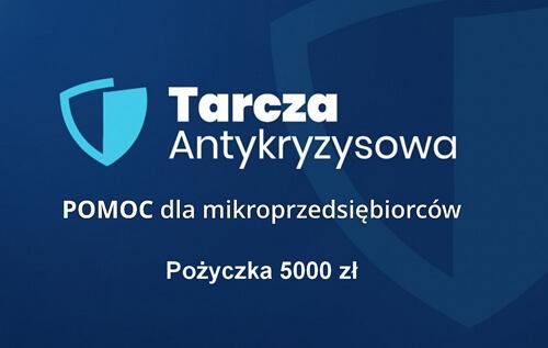 Pożyczka 5000 zł dla mikroprzedsiębiorców